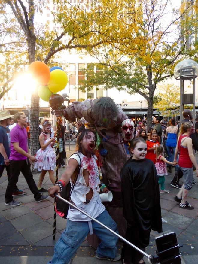 Really tall zombie