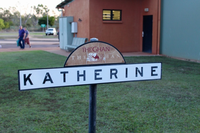 Stopping in Katherine