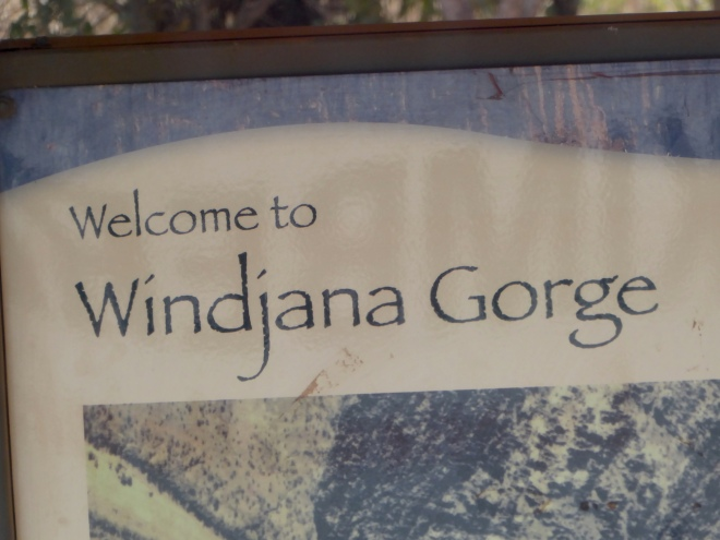 We are in Windjana Gorge National Park