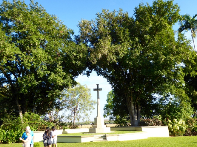 Monument in War Cemetery