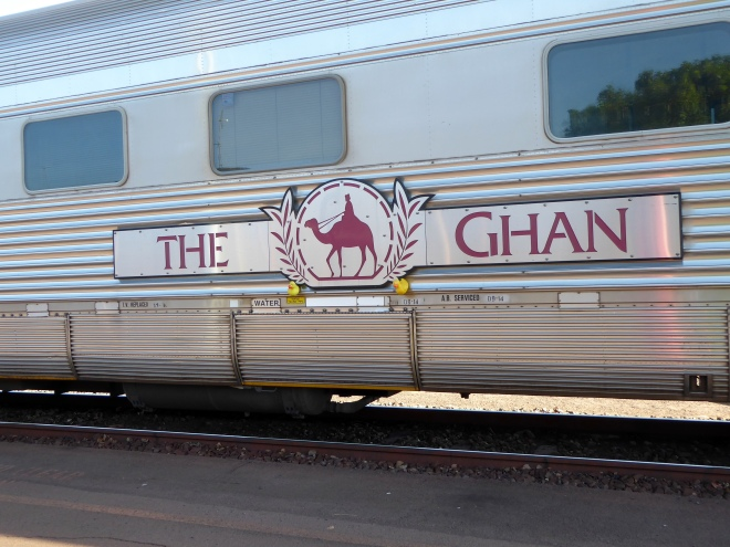 The Ghan. Our second Australian train