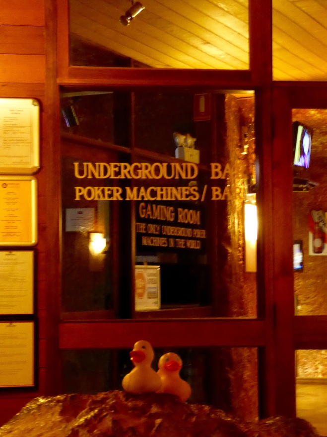 Underground Bar in our hotel