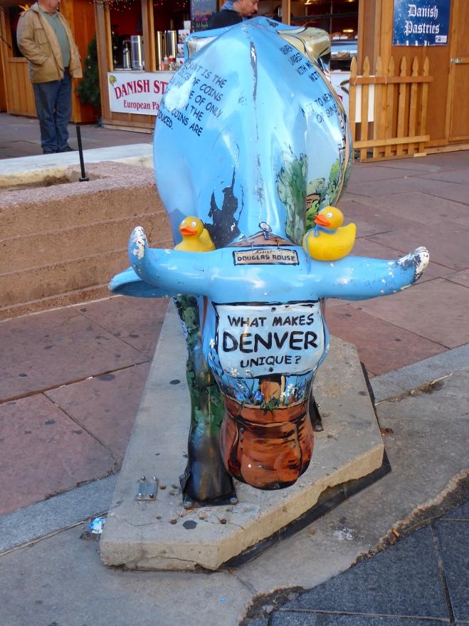 Denver's Blue Cow