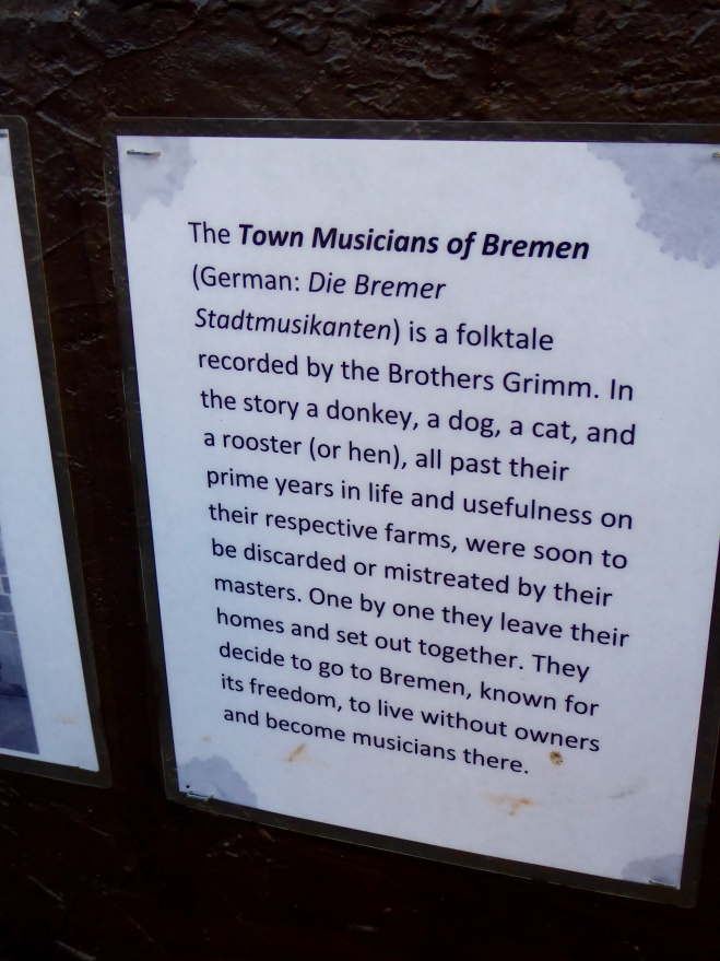 The musicians created by the Brothers Grimm