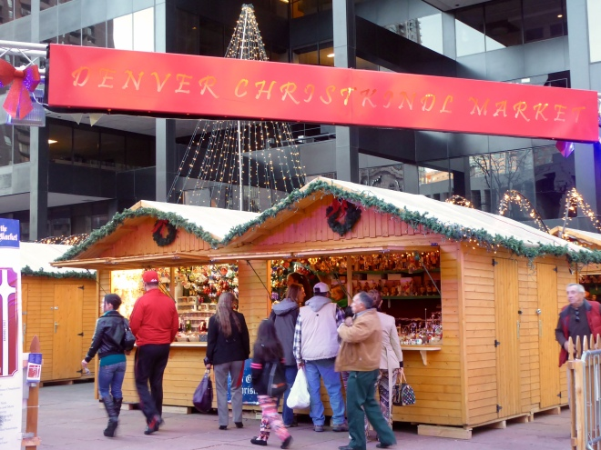 Entrance to Denver's Christkindl Market