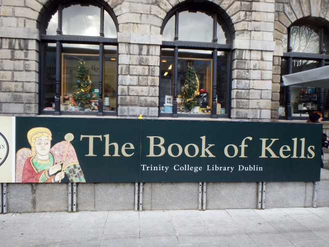 Book of Kells Trinity College Library Dublin