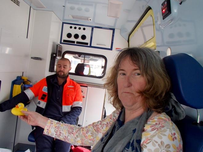 In Belgium's ambulance