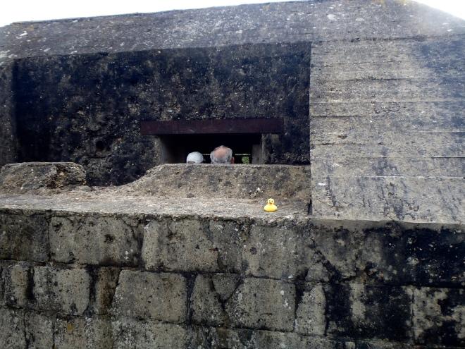 German Bunker at Normandy