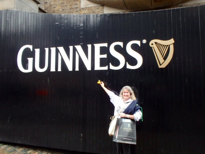 Going on a tour of Guiness with mom