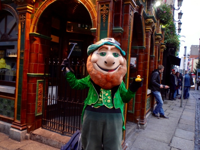 New friend from Temple Bar Dublin