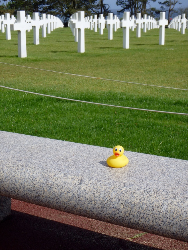 American Cemetery in Normandy, France