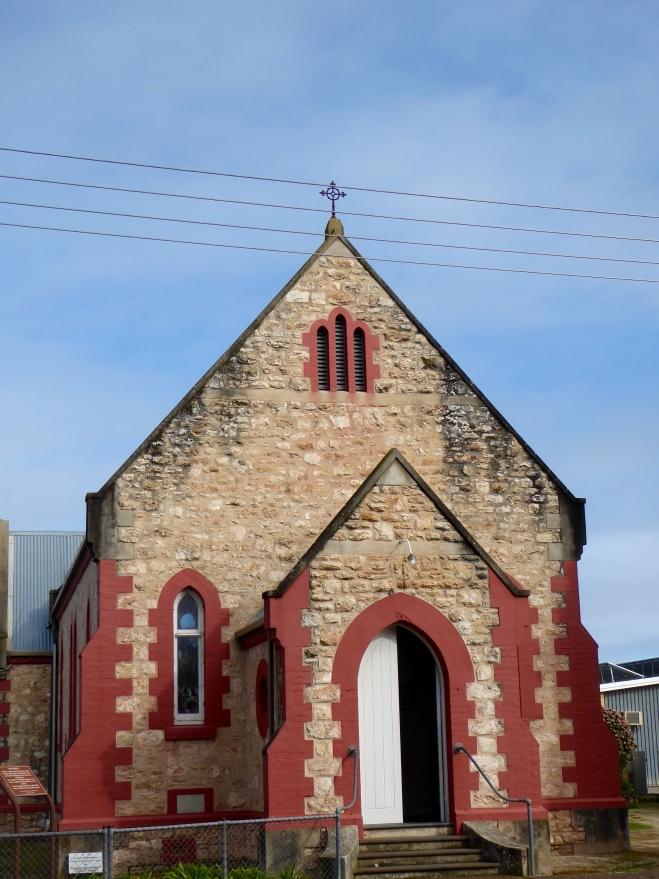 Old church in Keith, Australia