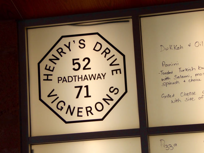 Label for Henry's Drive