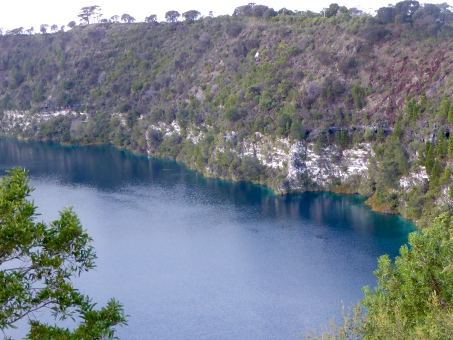 Blue Lake at Mount Gambier