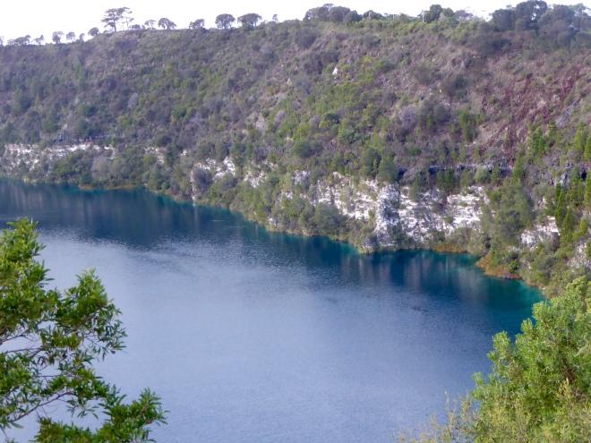Blue Lake at Mount Gambier