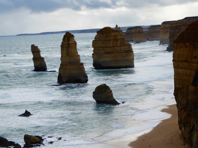 12 Apostles along Great Ocean Road