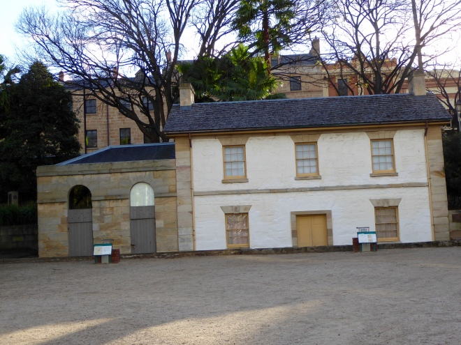 Cadmans Cottage Historic Site in Sydney