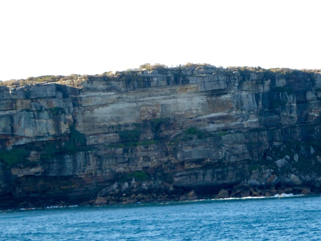 More steep cliffs are we return to Sydney