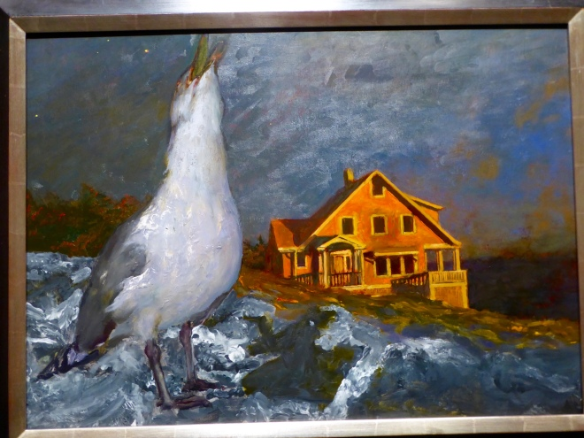 Jenny Whibley Sings by Jamie Wyeth