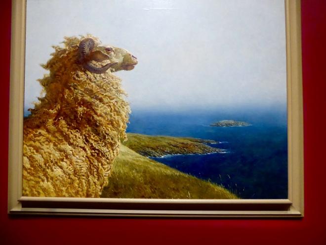 The Islander by Jamie Wyeth