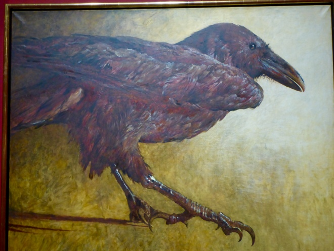 Raven by Jamie Wyeth