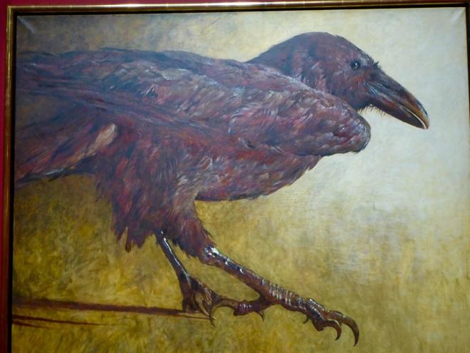 Raven by Jamie Wyeth