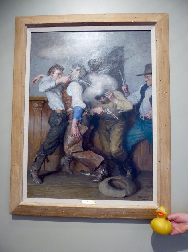Gunfighter by N. C. Wyeth