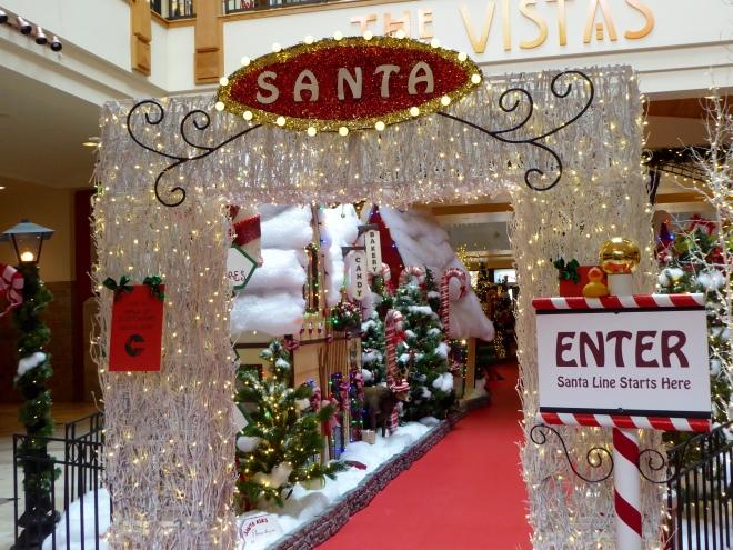 This way to Santa