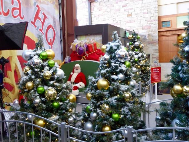 Santa sees us!