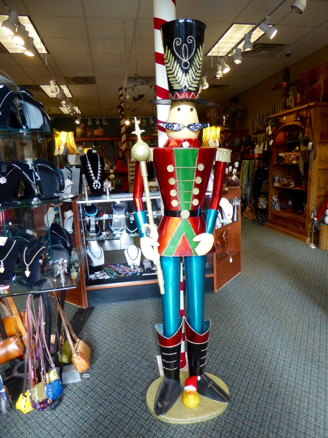 A big toy soldier in Estes Park
