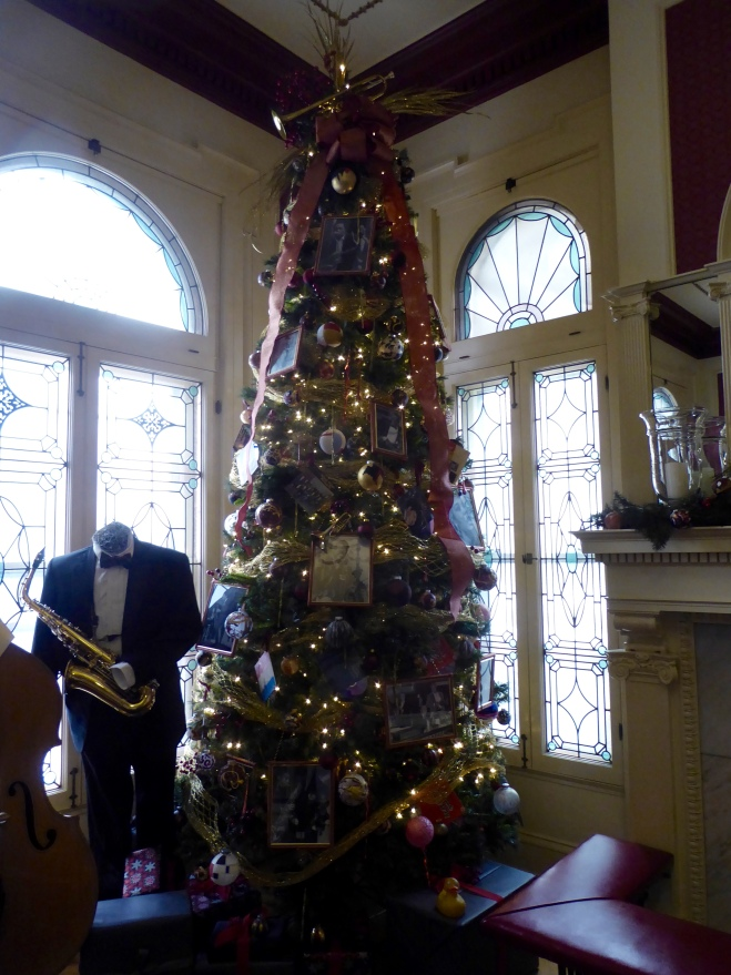 Tree in Bar and Gift shop