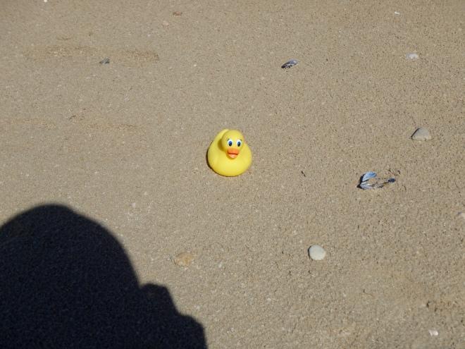 On the sand Utah Beach