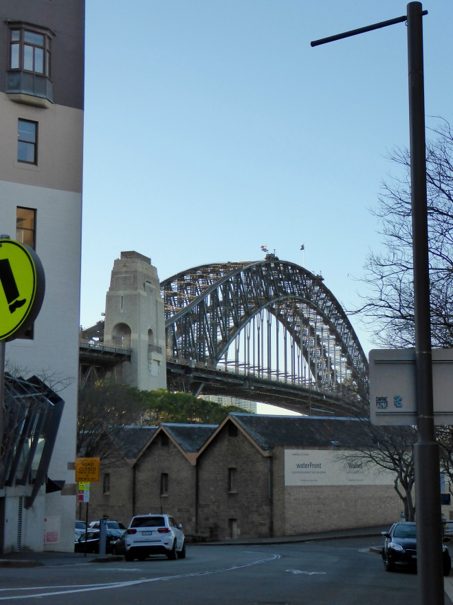Sydney Harbor Bridge from the Rocks