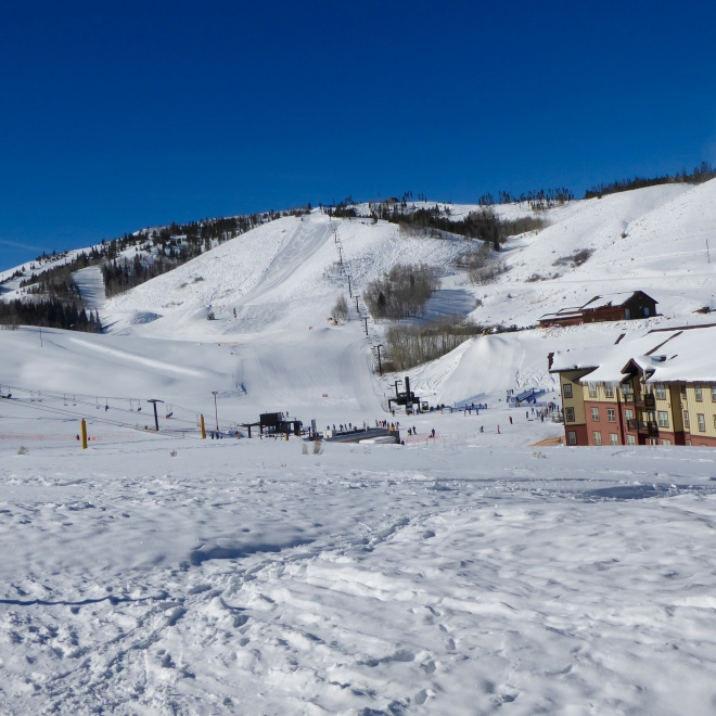 Ski lifts and runs for all skill level