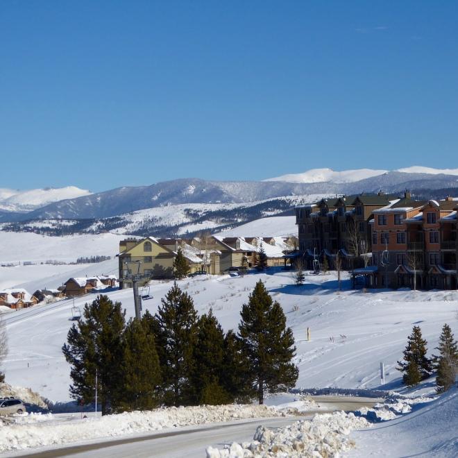 Ski to condo