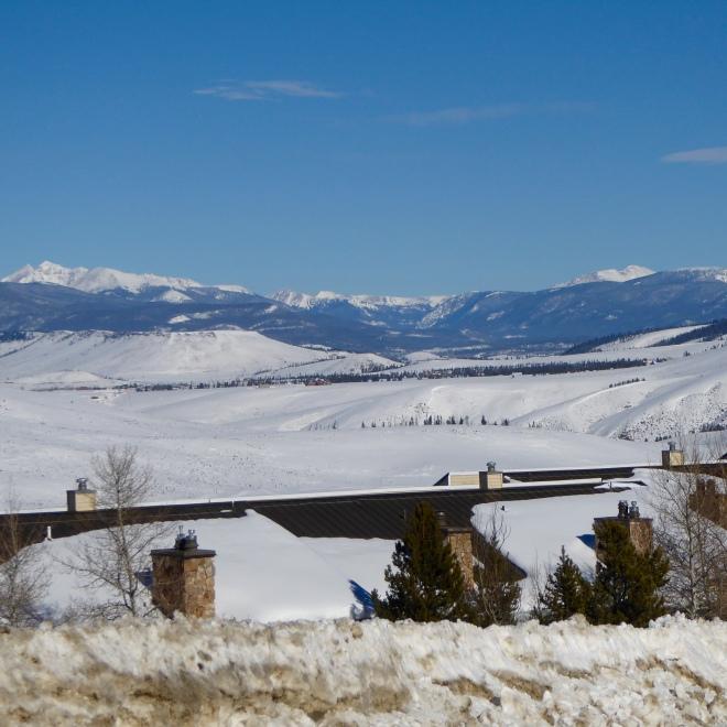 Beautiful scenery at Granby Ranch