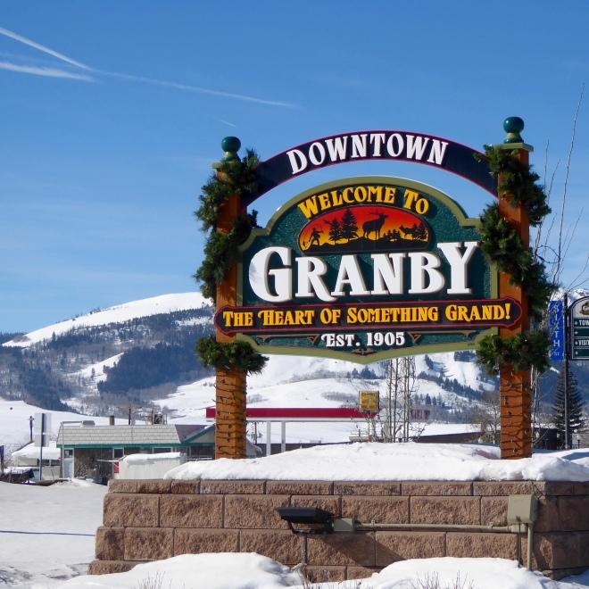 Welcome to Granby, Colorado