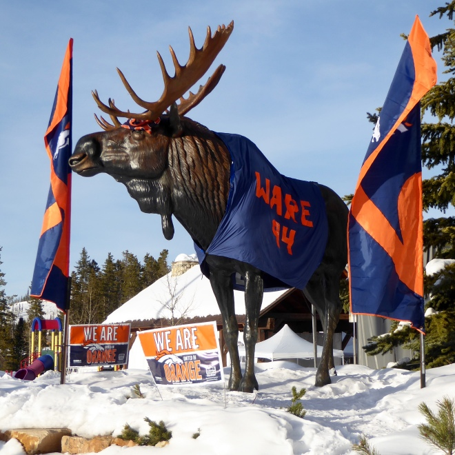 Winter Park, Colorado supports the Denver Broncos