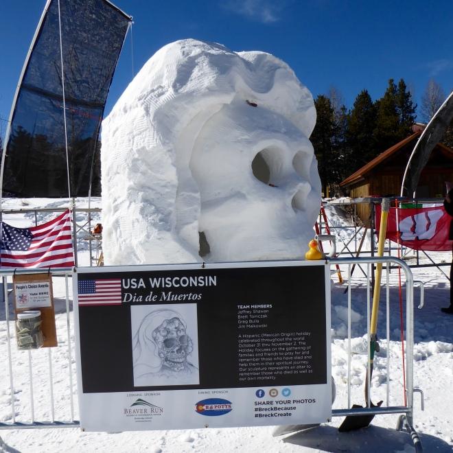Team USA Wisconsin: Dia de Muertos