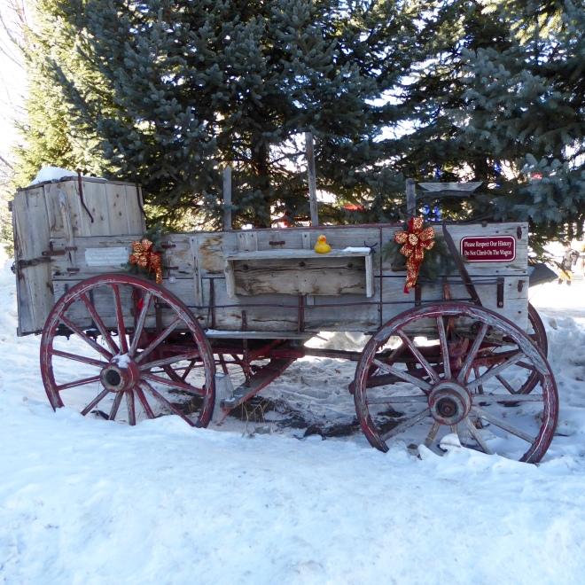 Historical wagon