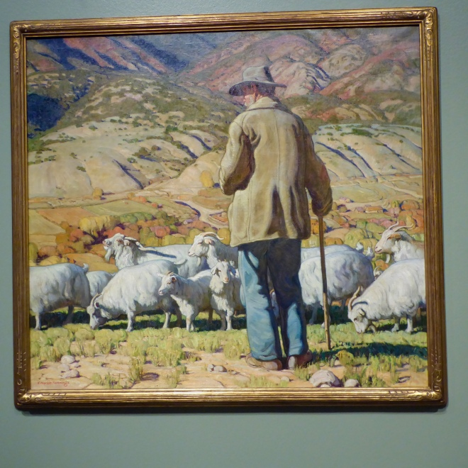 The Goat Herder by Hennings