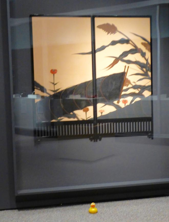 Folding Screen with Autumn Scene