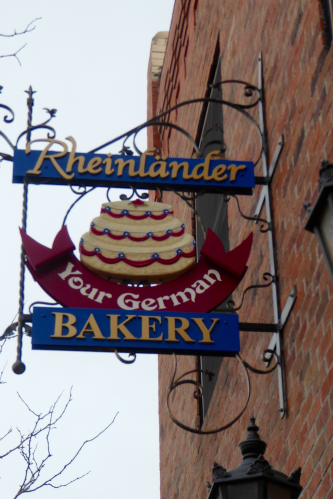 Rheinlander Bakery. Smells so good here