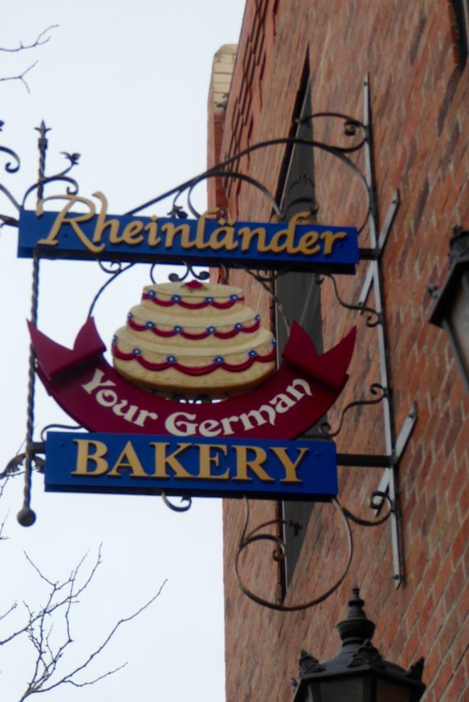 Rheinlander Bakery. Smells so good here
