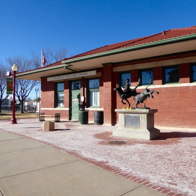 Visitor's Center, Lamar, Colorado