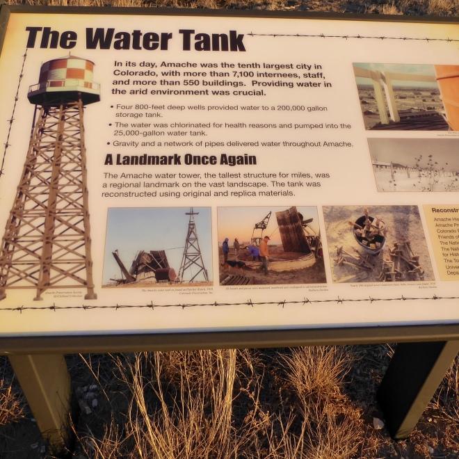 Water tank information