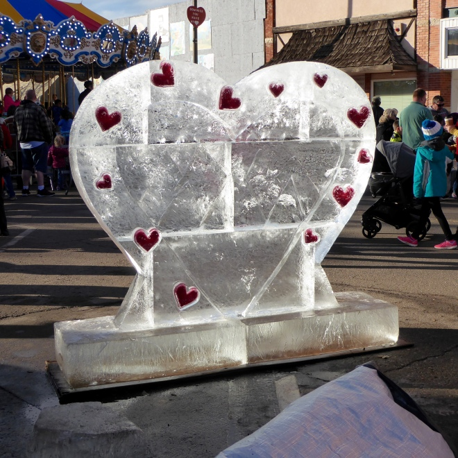 Ice Heart in Loveland