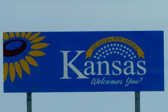 We are entering Kansas