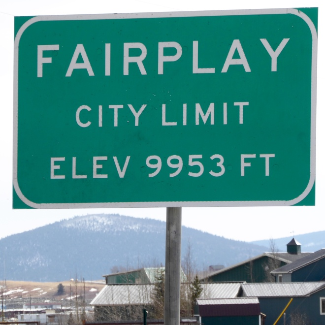 Welcome to Fairplay, Colorado
