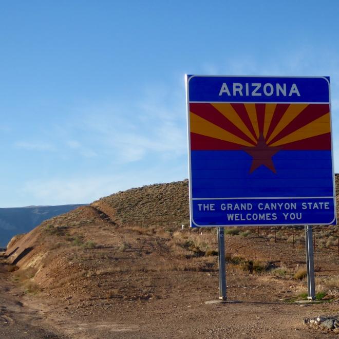 We are in Arizona